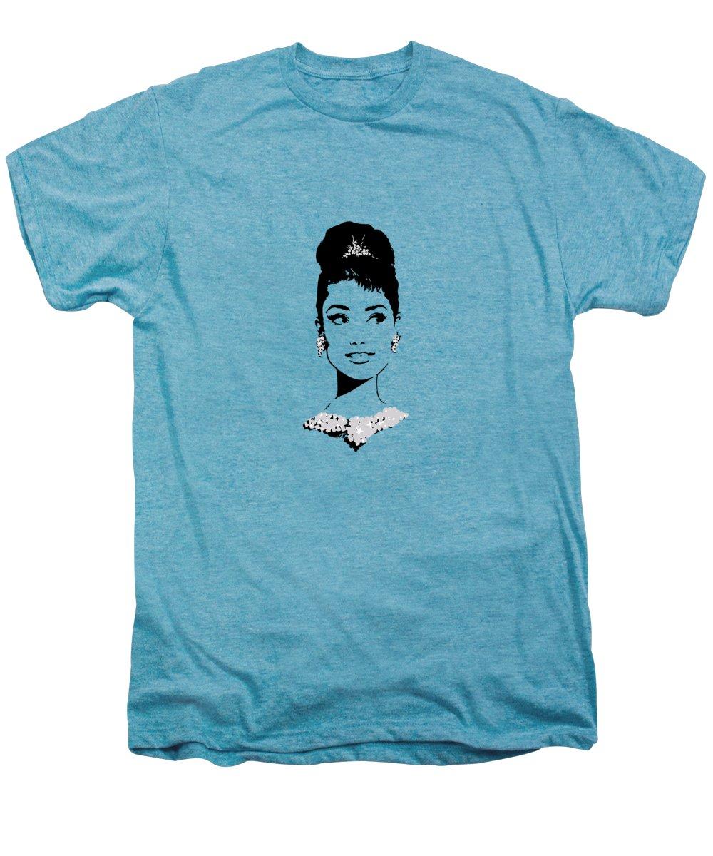 Audrey Hepburn Premium T-Shirts