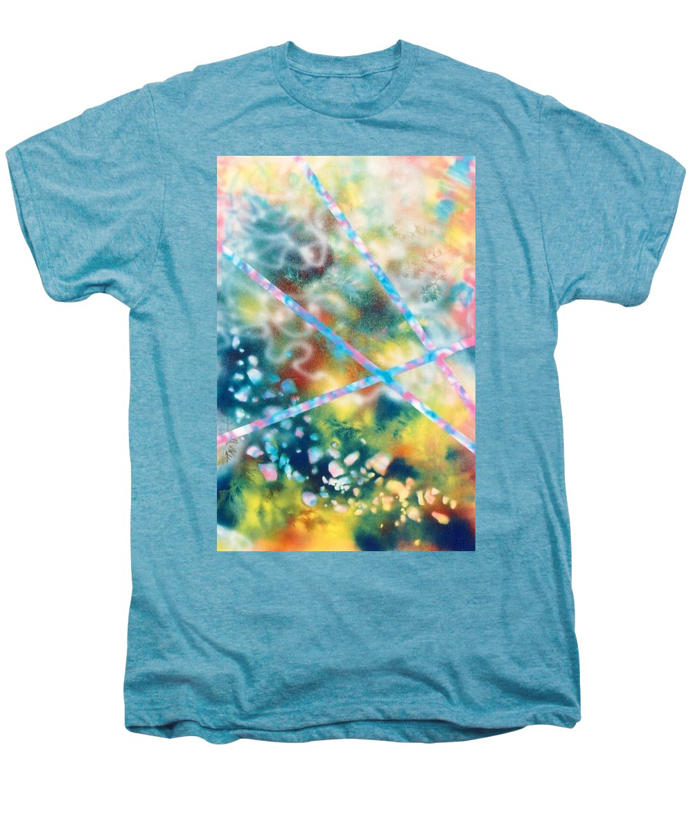Abstract Men's Premium T-Shirt featuring the painting Autumn by Micah Guenther