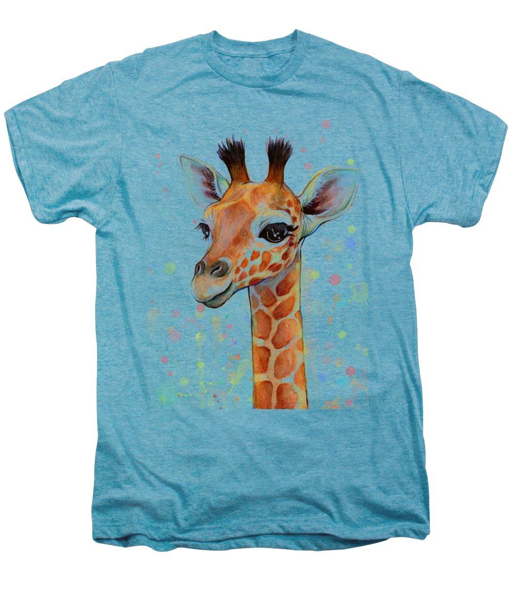 Giraffe Premium T-Shirts