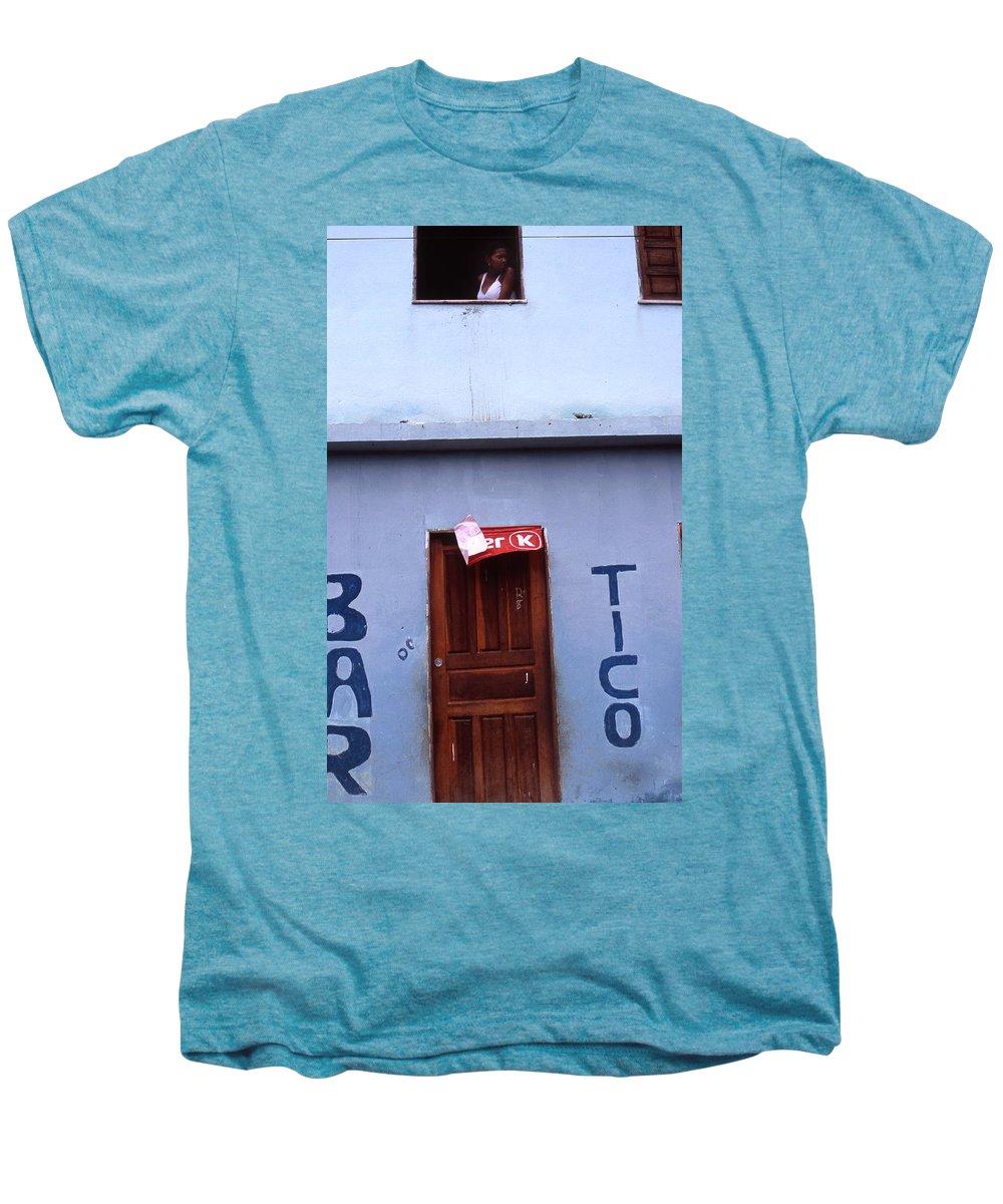 Lencois Men's Premium T-Shirt featuring the photograph Bar Tico by Patrick Klauss