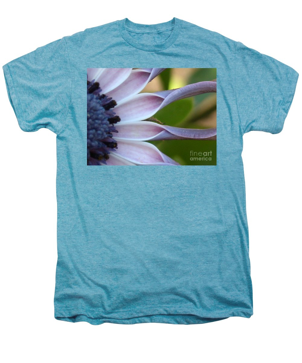 Floral Men's Premium T-Shirt featuring the photograph Beautiful 002 by Line Gagne