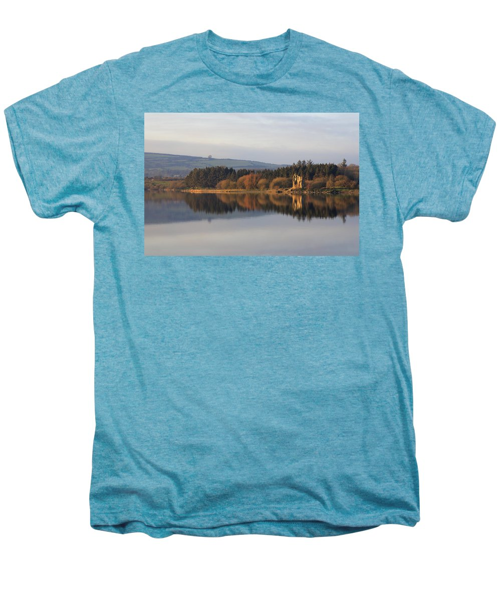 Lake Men's Premium T-Shirt featuring the photograph Blessington Lakes by Phil Crean