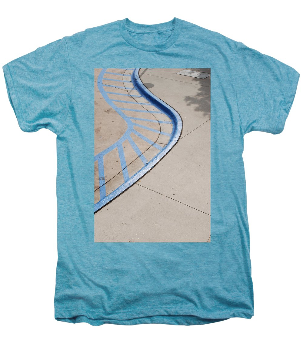Blue Men's Premium T-Shirt featuring the photograph Blue Zone by Rob Hans