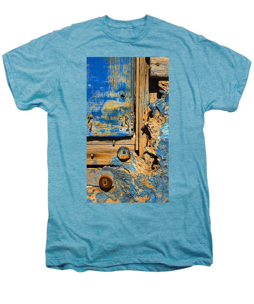 Abstract Men's Premium T-Shirt featuring the photograph Blues Dues by Skip Hunt