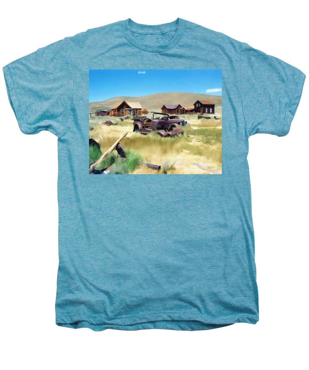 Bodie Men's Premium T-Shirt featuring the photograph Bodie by Kurt Van Wagner