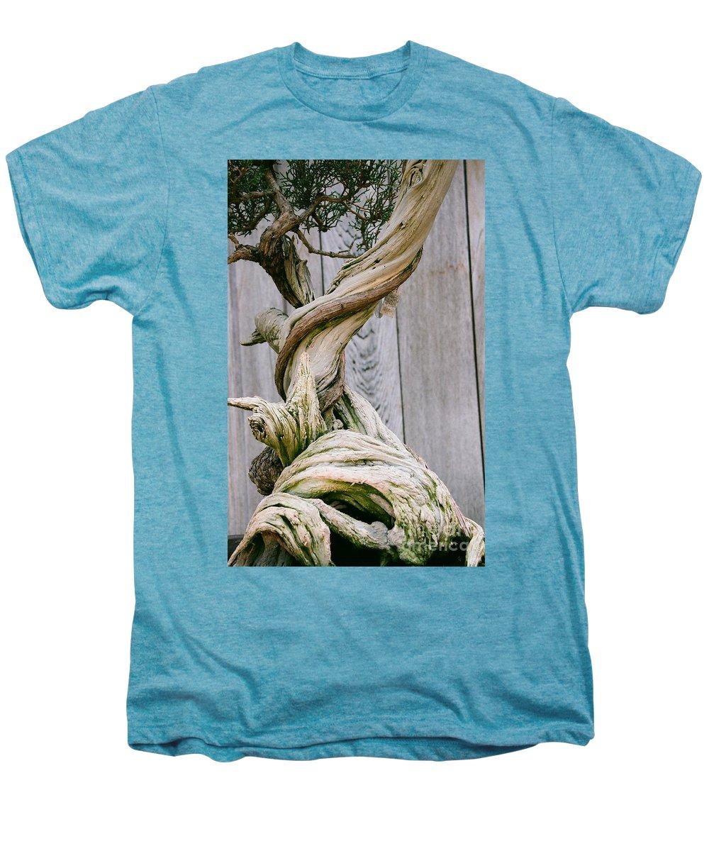 Tree Men's Premium T-Shirt featuring the photograph Bonsai by Dean Triolo