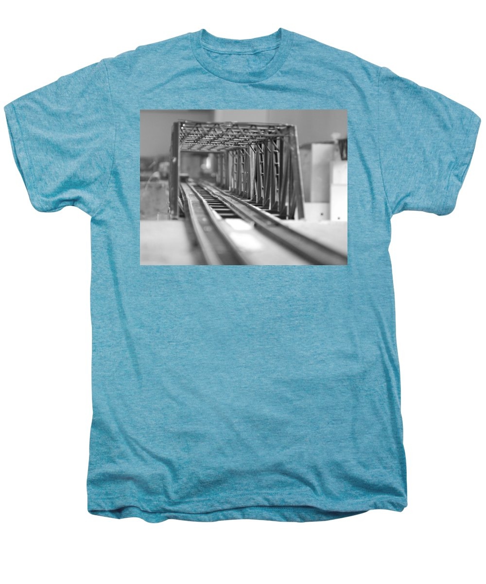Models Men's Premium T-Shirt featuring the photograph Bridge To Jerry Town by Margaret Fortunato