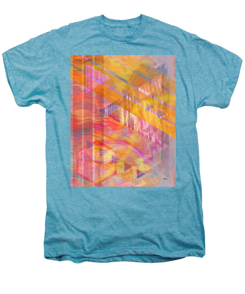 Affordable Art Men's Premium T-Shirt featuring the digital art Bright Dawn by John Beck