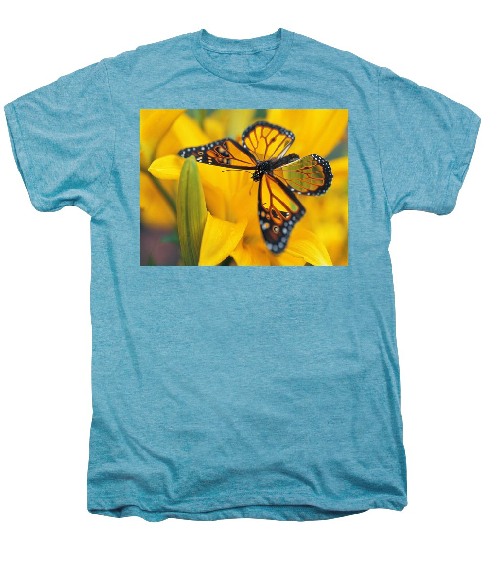 Butterfly Men's Premium T-Shirt featuring the digital art Butterfly by Tim Allen