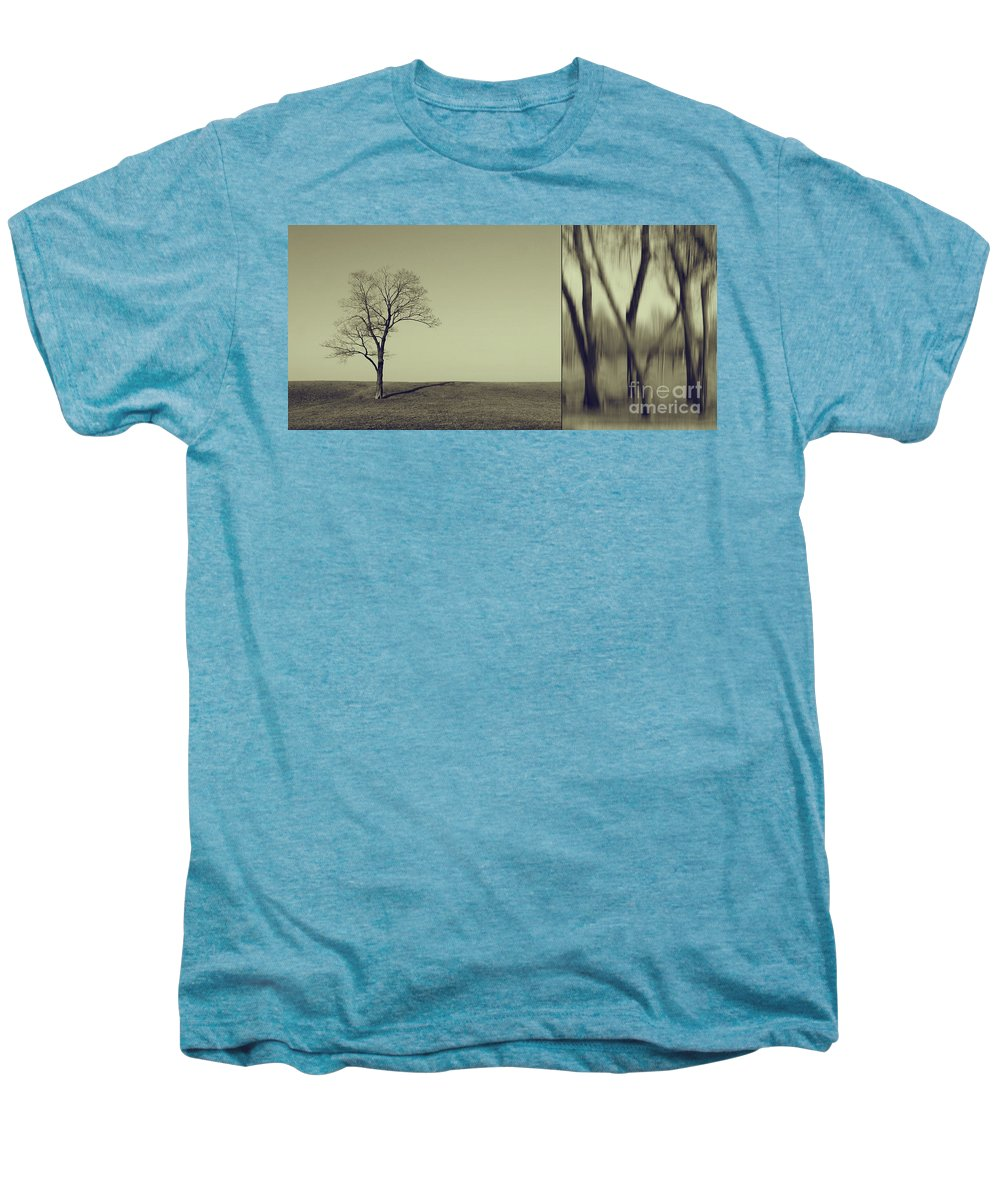 Chicago Men's Premium T-Shirt featuring the photograph Can You Hear My Silent Words Whispering Along The Wind by Dana DiPasquale