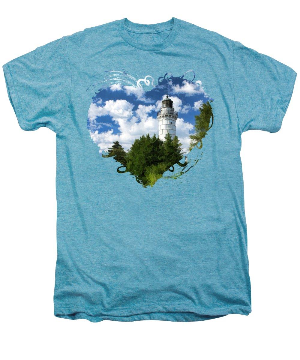 Lake Michigan Premium T-Shirts