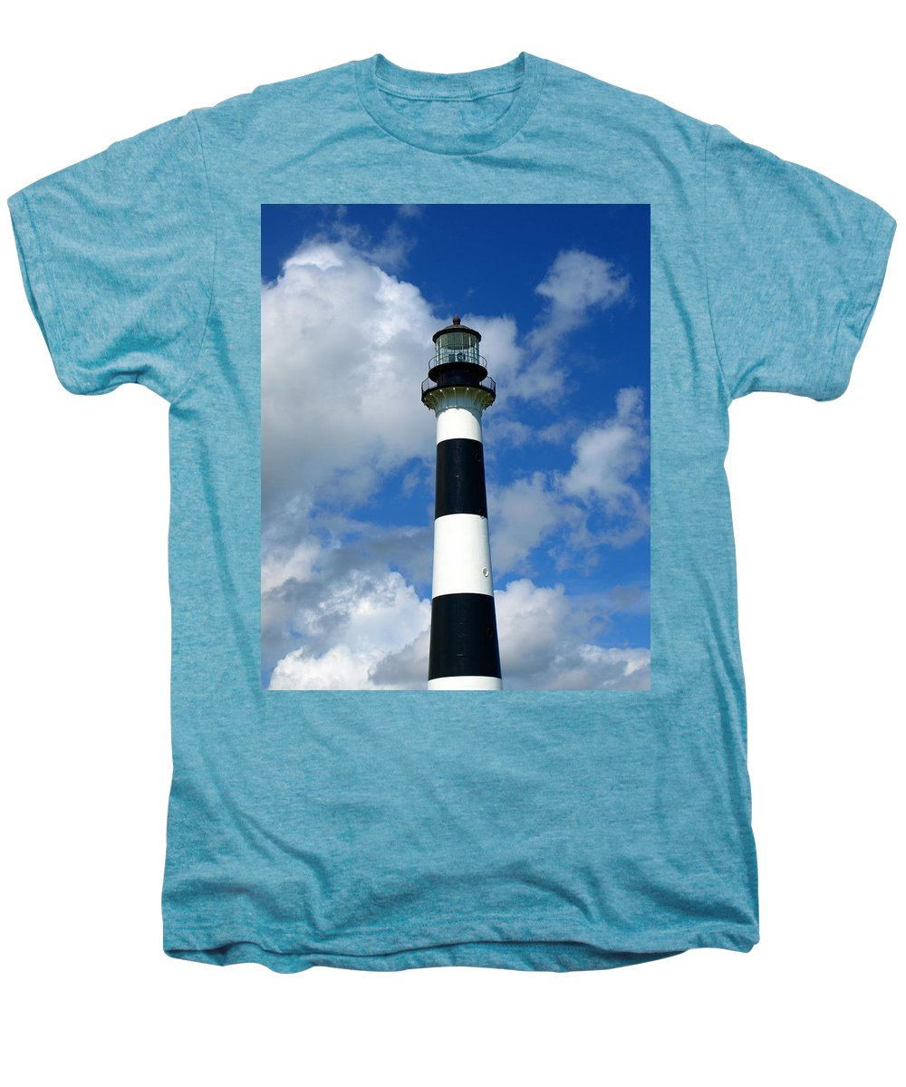 Men's Premium T-Shirt featuring the photograph Canveral Light by Allan Hughes