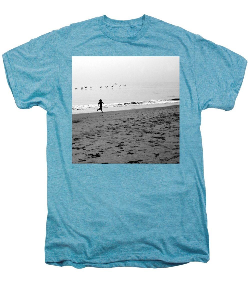 Photograph Men's Premium T-Shirt featuring the photograph Carefree by Jean Macaluso
