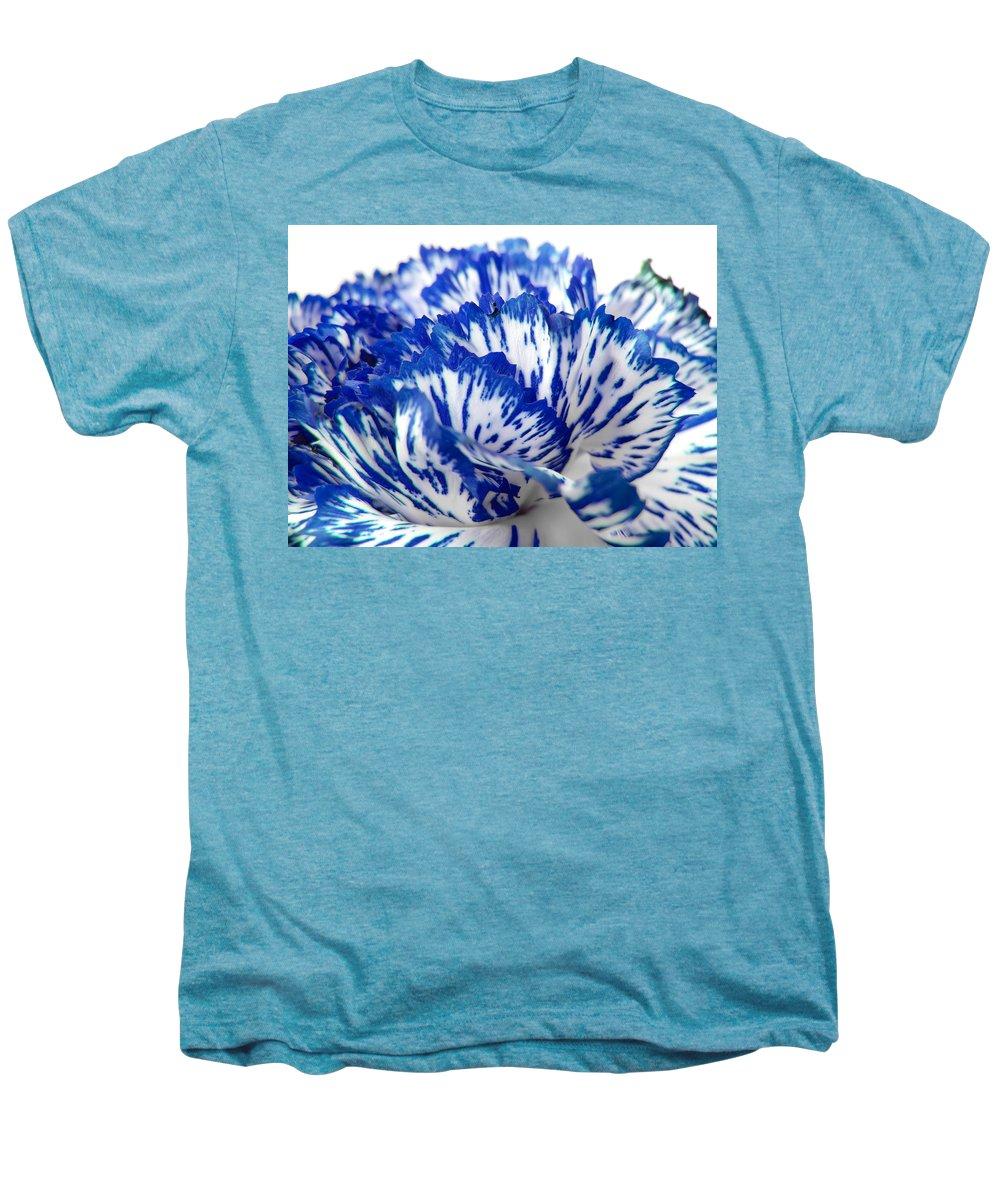 Carnation Men's Premium T-Shirt featuring the photograph Carnation by Daniel Csoka