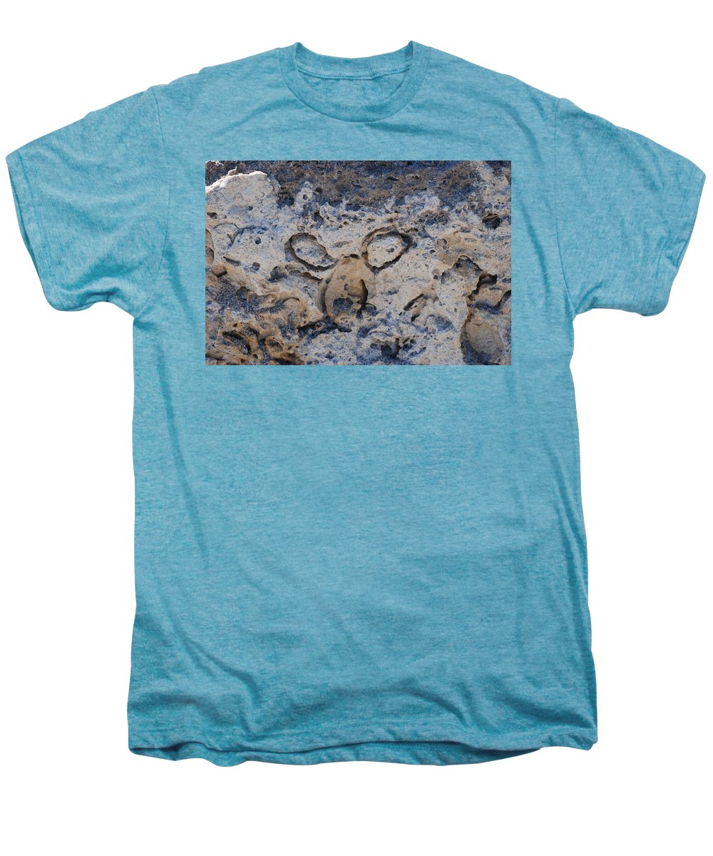 Ocean Men's Premium T-Shirt featuring the photograph Carved Catface by Rob Hans