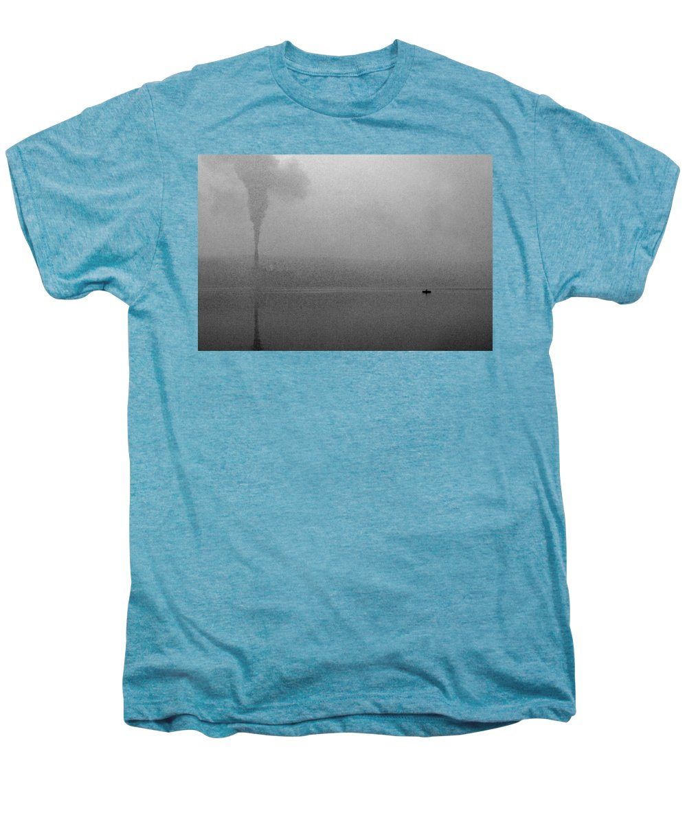 Solitude Men's Premium T-Shirt featuring the photograph Cayuga Solitude by Jean Macaluso