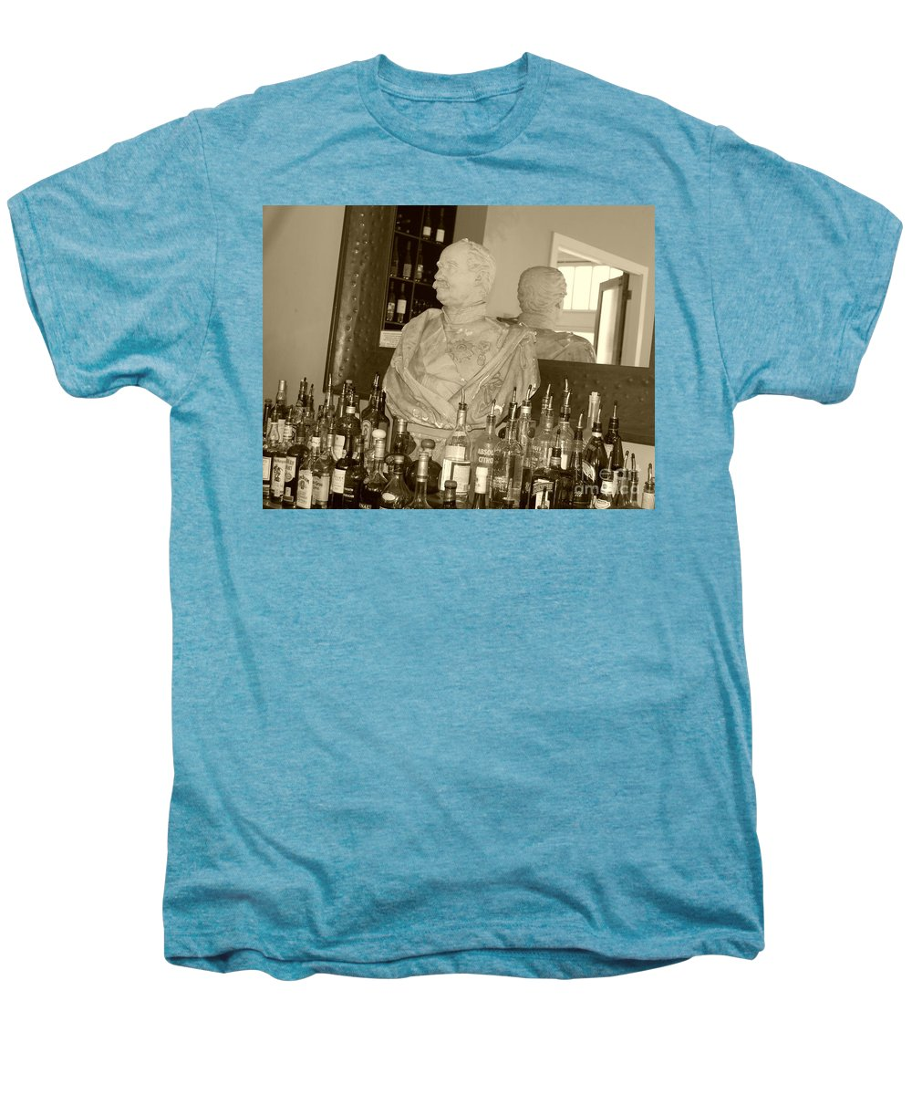 Bust Men's Premium T-Shirt featuring the photograph Chipped Reflection by Debbi Granruth