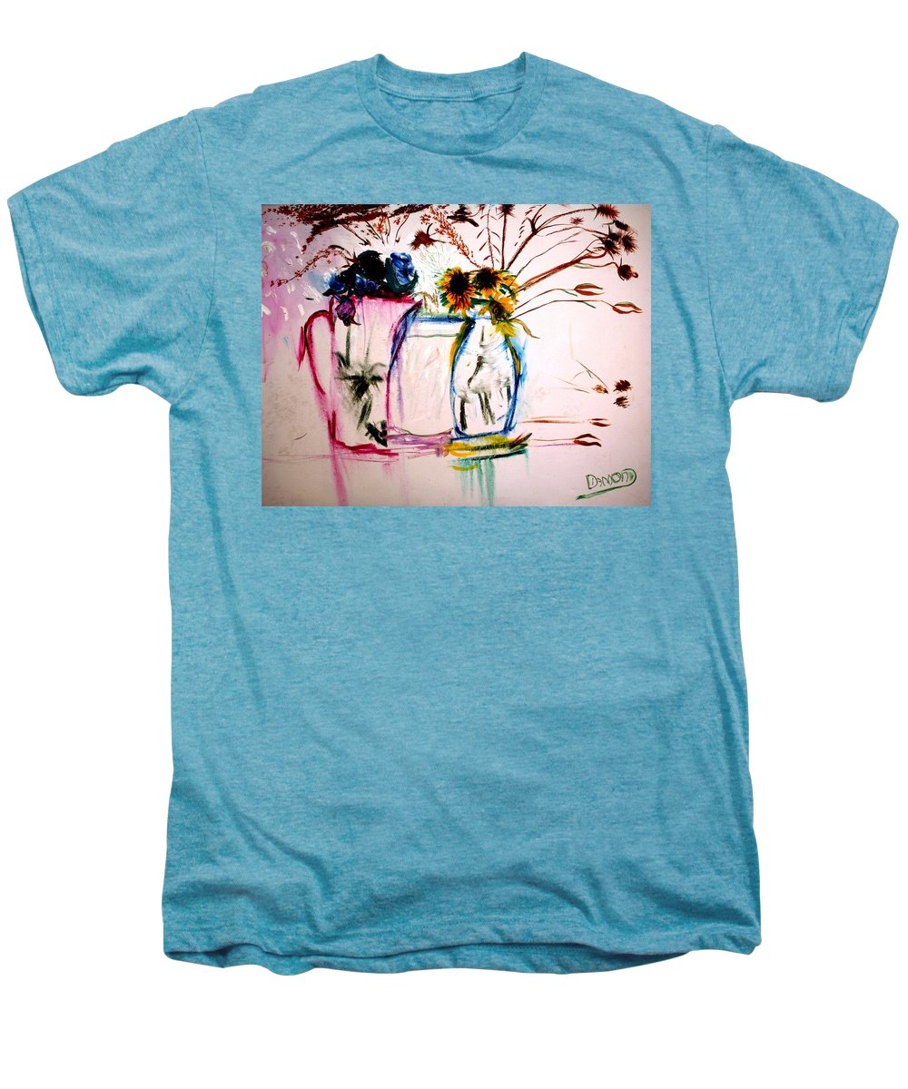 Still Life Men's Premium T-Shirt featuring the painting Clear by Jack Diamond