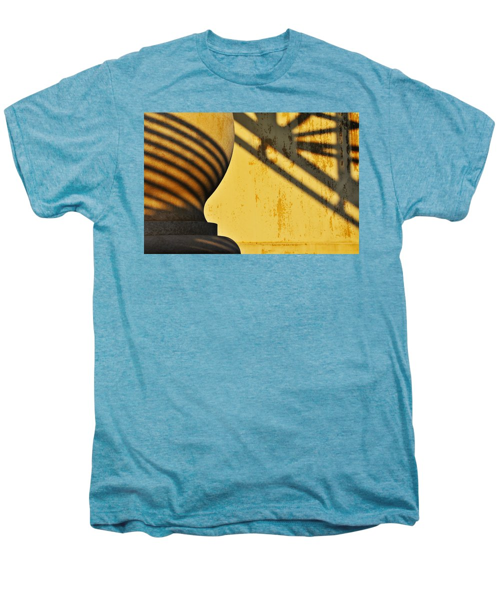 Architecture Men's Premium T-Shirt featuring the photograph Comb Over by Skip Hunt
