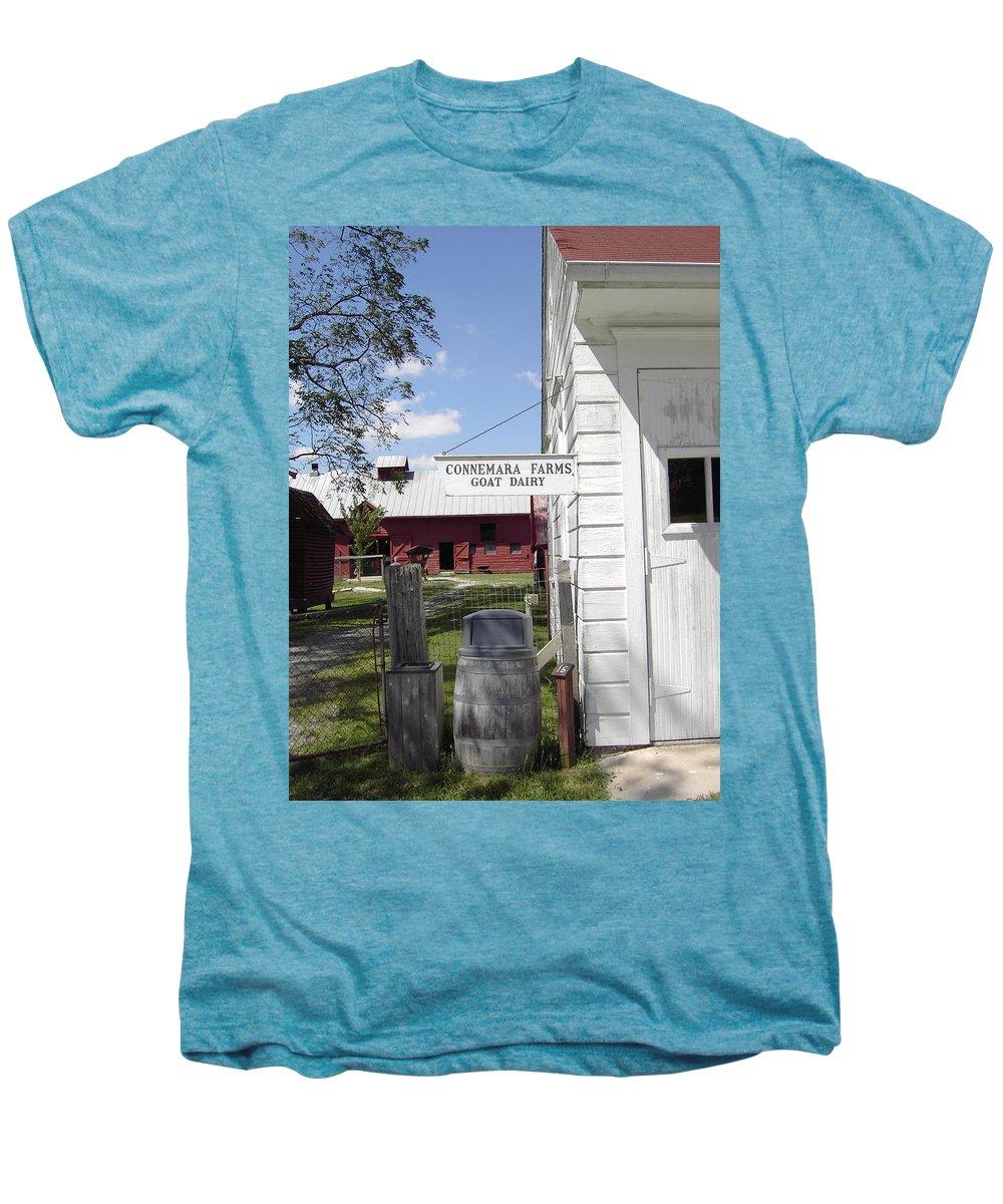Connemara Flat Rock North Carolina Men's Premium T-Shirt featuring the photograph Connemara Flat Rock North Carolina by Flavia Westerwelle