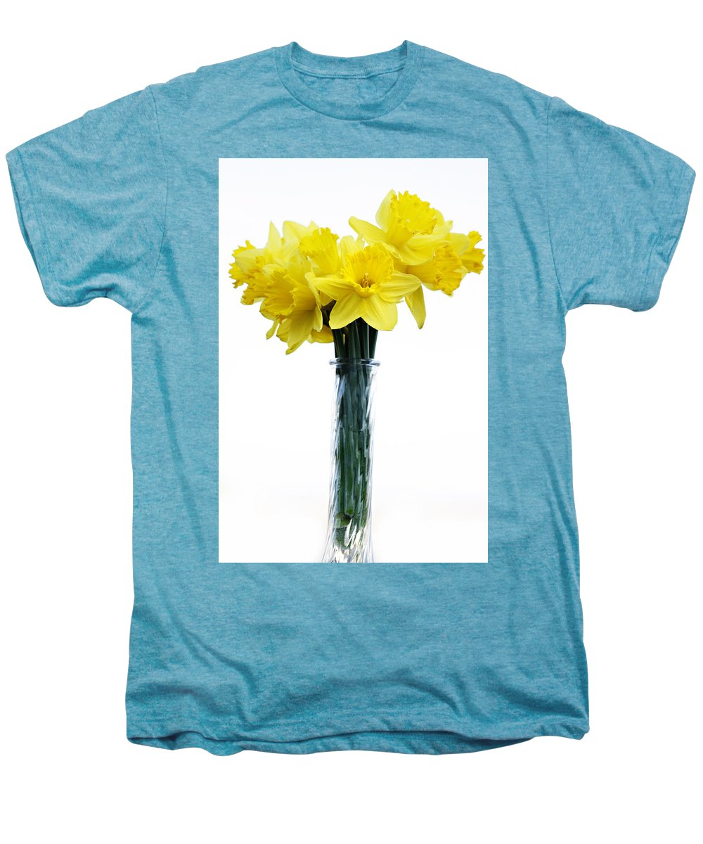 Daffodil Men's Premium T-Shirt featuring the photograph Daffodil by Marilyn Hunt