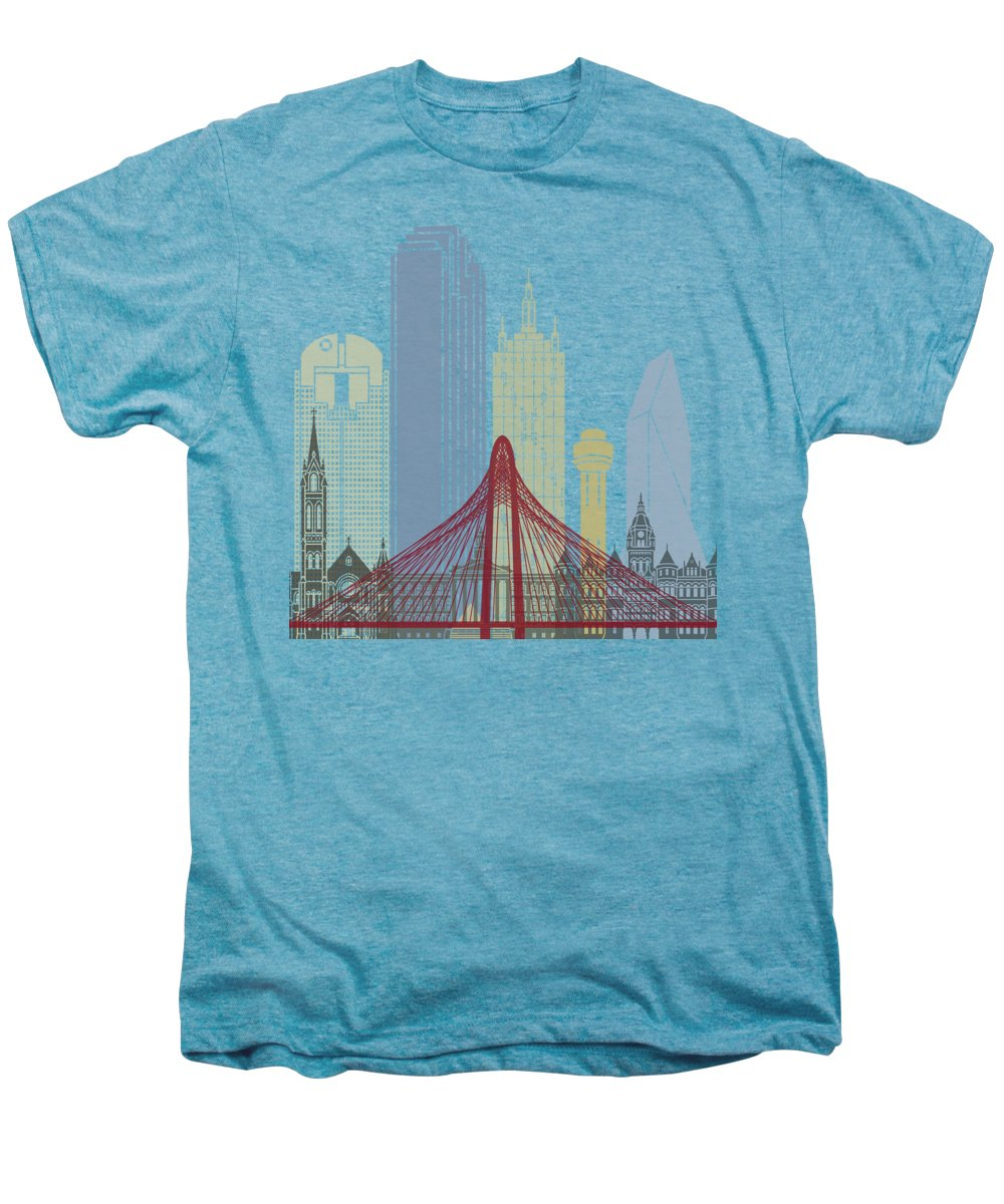 Dallas Skyline Premium T-Shirts