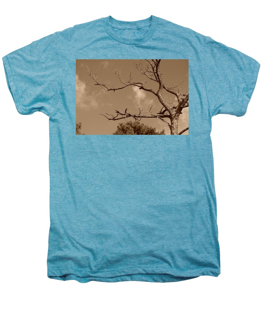 Sepia Men's Premium T-Shirt featuring the photograph Dead Wood by Rob Hans