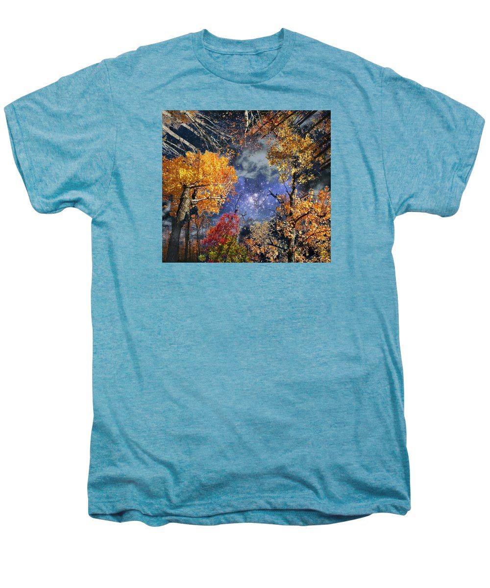 Deep Space Men's Premium T-Shirt featuring the photograph Deep Canopy by Dave Martsolf