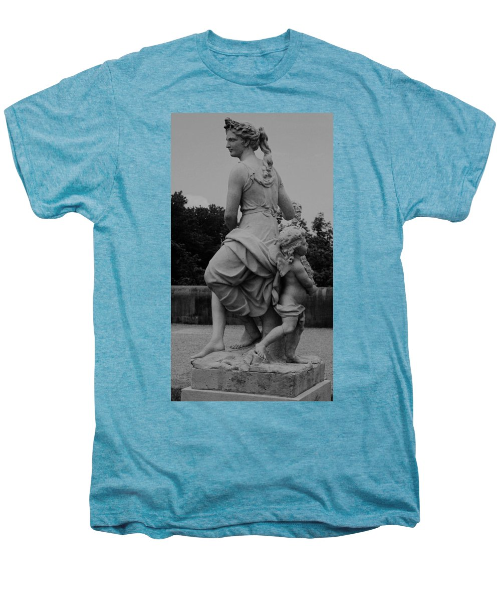 Figurative Men's Premium T-Shirt featuring the painting Diana by Eric Schiabor