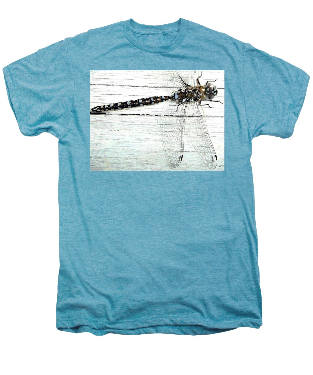 Insect Men's Premium T-Shirt featuring the photograph Dragonfly by Will Borden