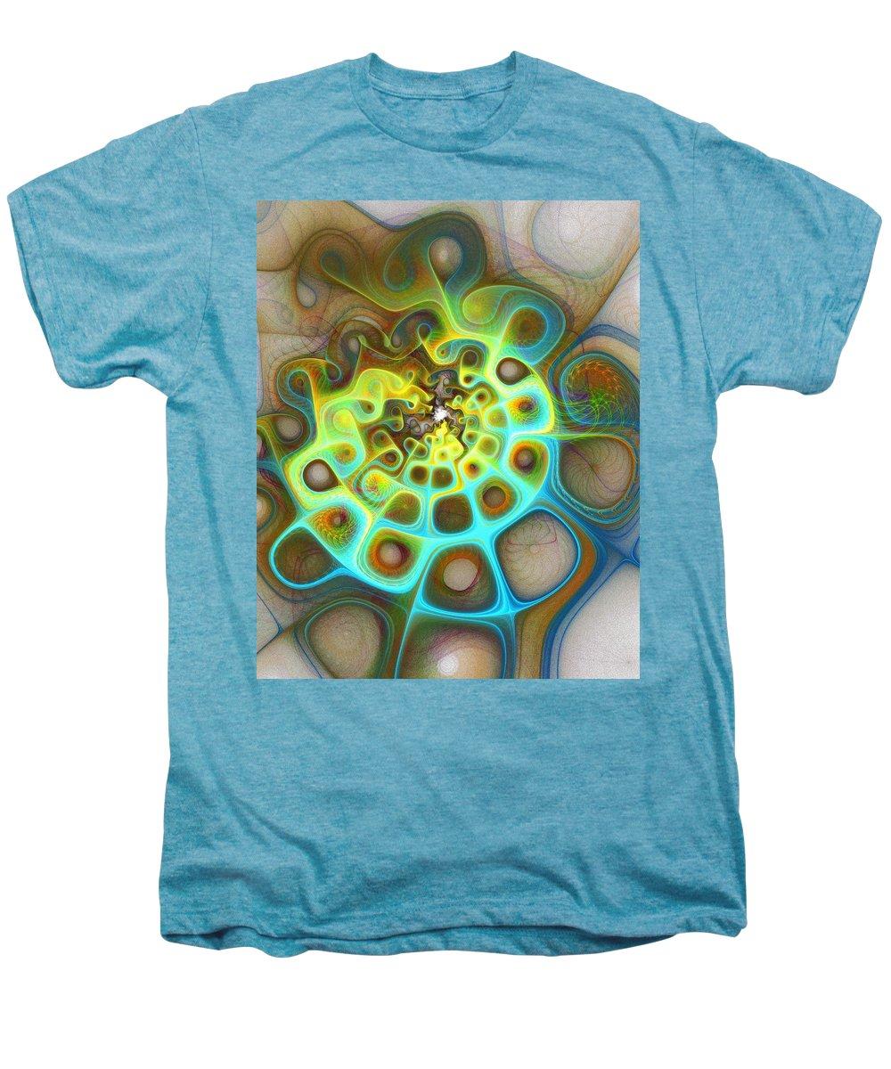 Digital Art Men's Premium T-Shirt featuring the digital art Dreamscapes by Amanda Moore