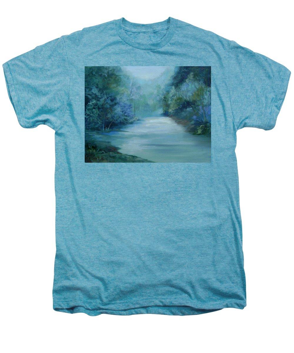 Burton River Georgia Men's Premium T-Shirt featuring the painting Dreamsome by Ginger Concepcion