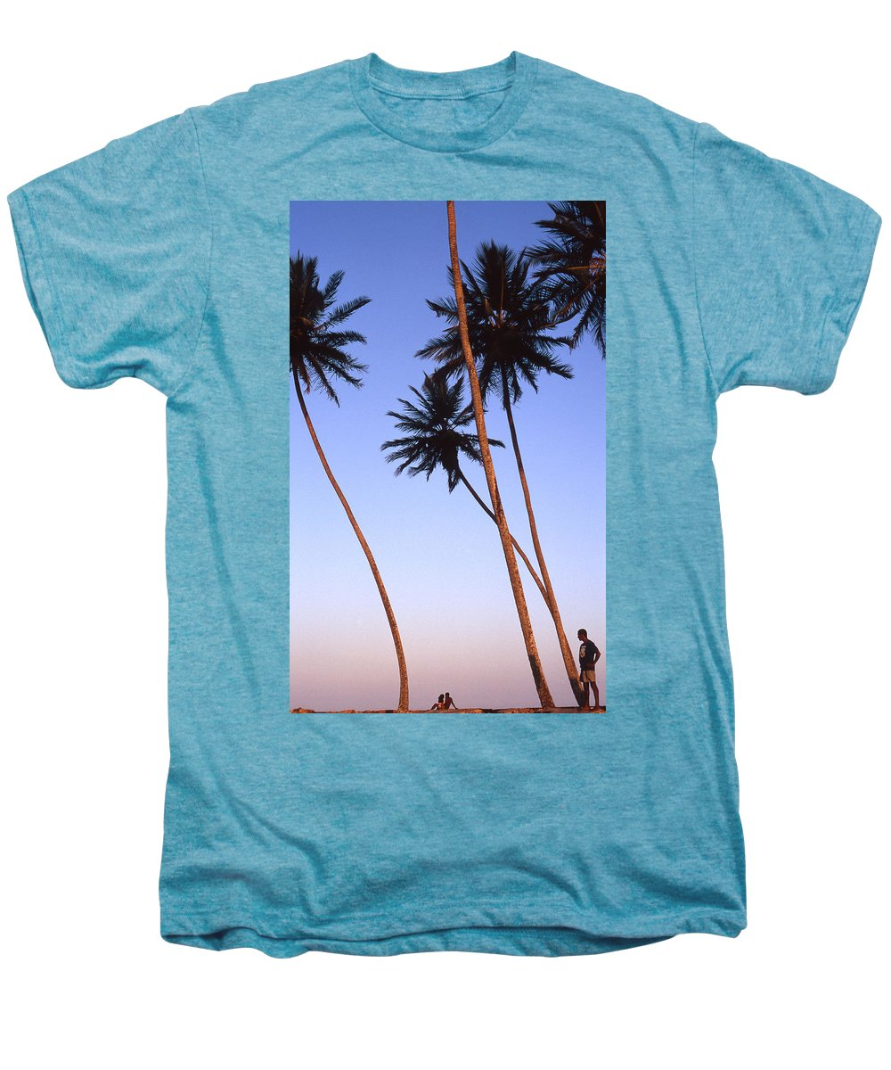Bahia Men's Premium T-Shirt featuring the photograph Dusk In Morro by Patrick Klauss