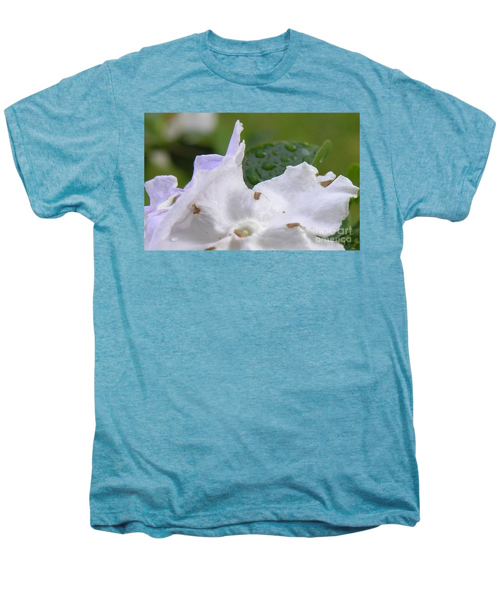 Flower Men's Premium T-Shirt featuring the photograph Easter Surprise by Richard Rizzo