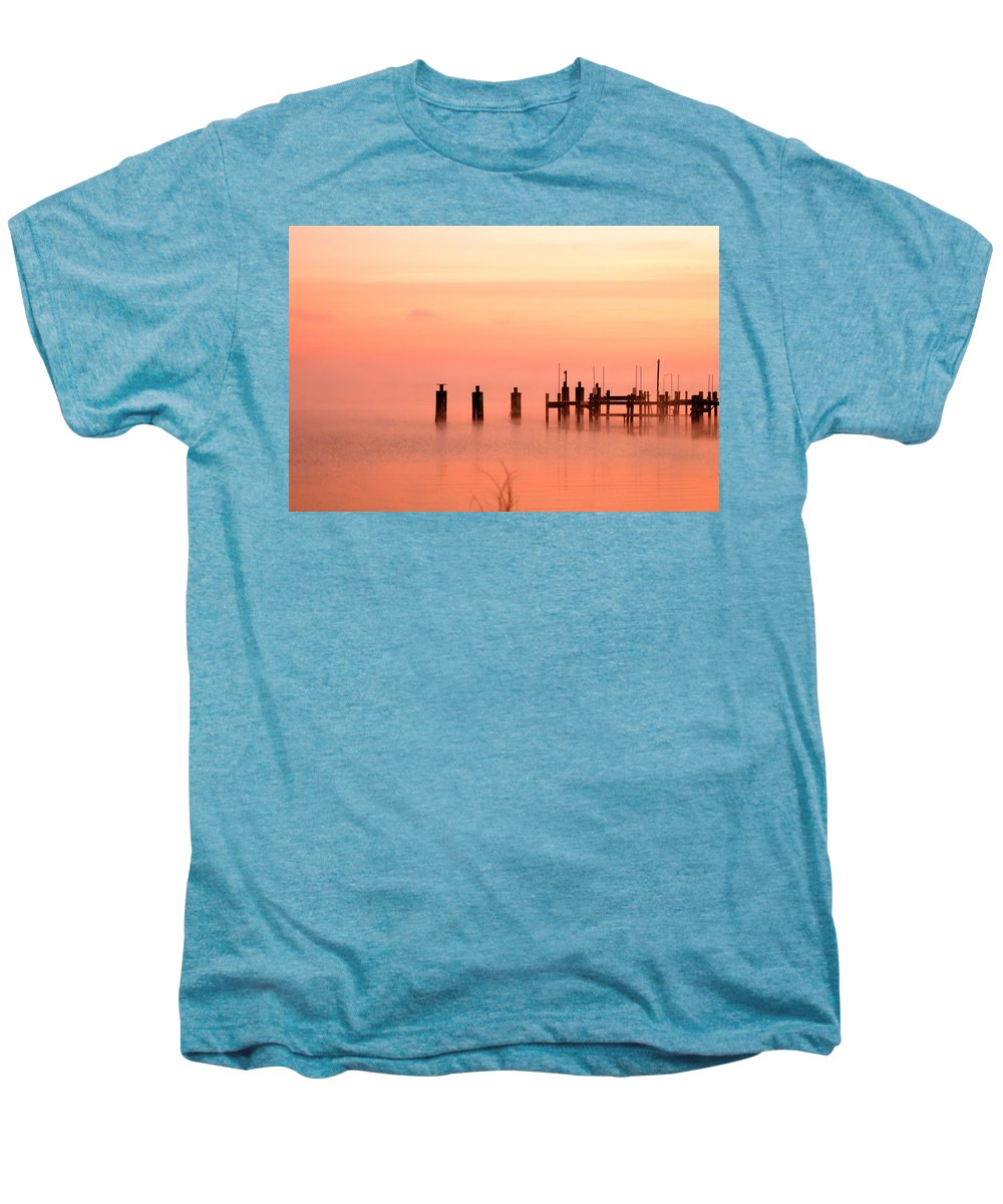 Clay Men's Premium T-Shirt featuring the photograph Eery Morn by Clayton Bruster