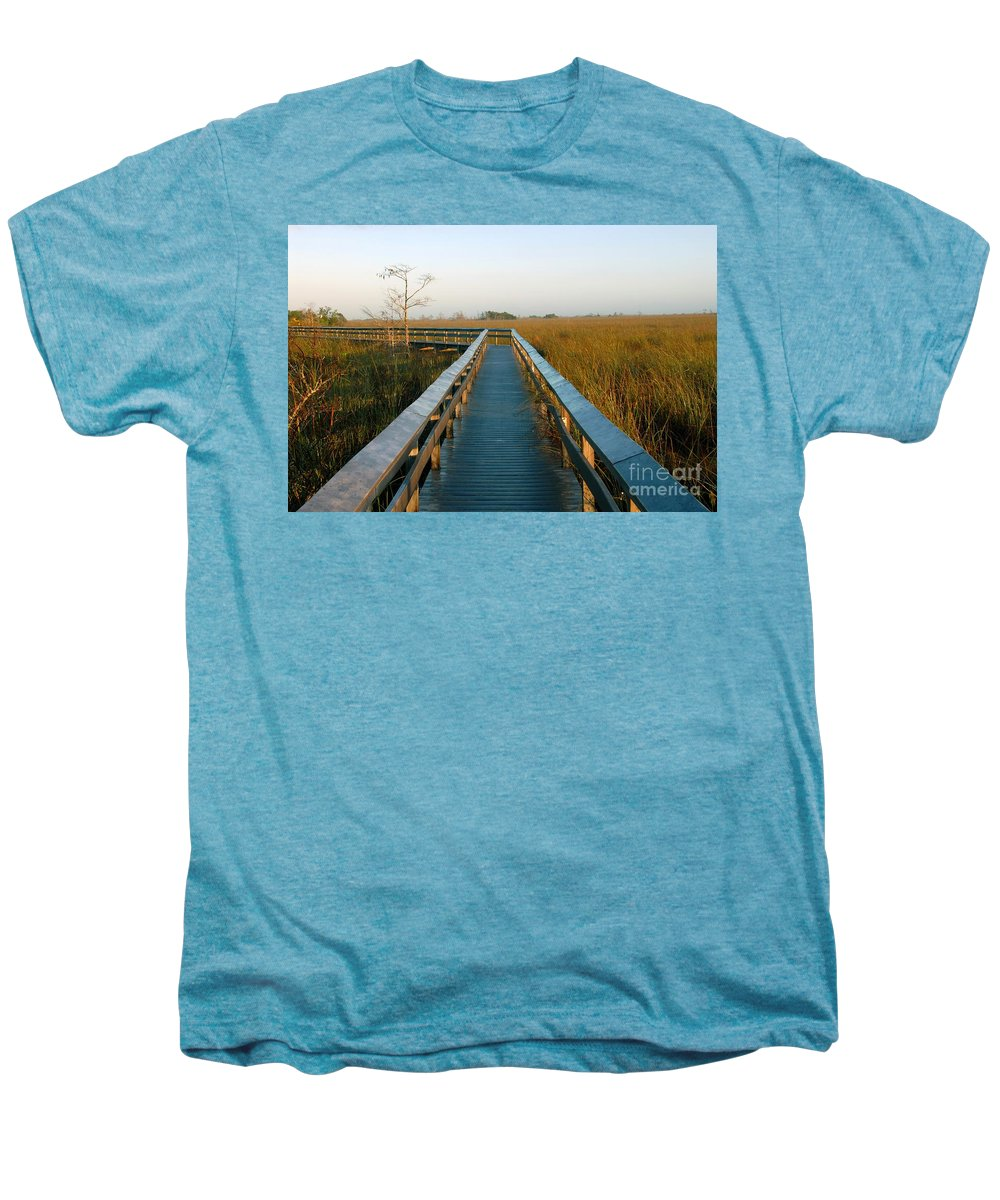 Everglades National Park Florida Men's Premium T-Shirt featuring the photograph Everglades National Park by David Lee Thompson
