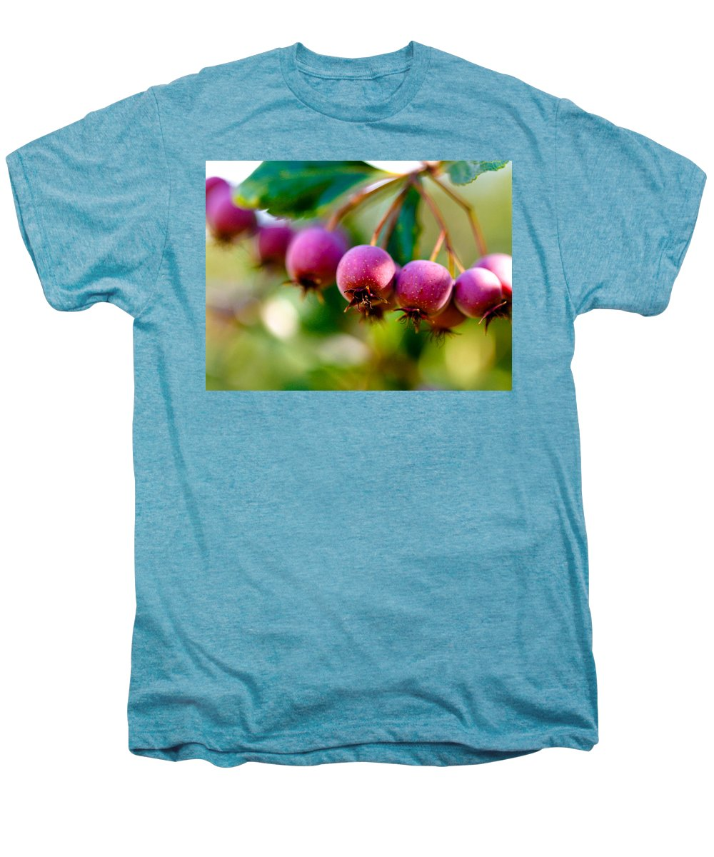 Berry Men's Premium T-Shirt featuring the photograph Fall Berries by Marilyn Hunt
