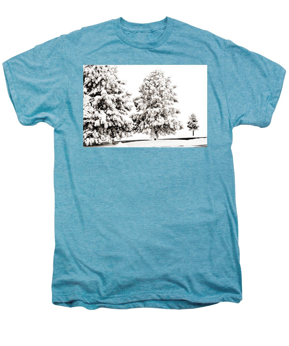 Trees Men's Premium T-Shirt featuring the photograph Family Of Trees by Marilyn Hunt