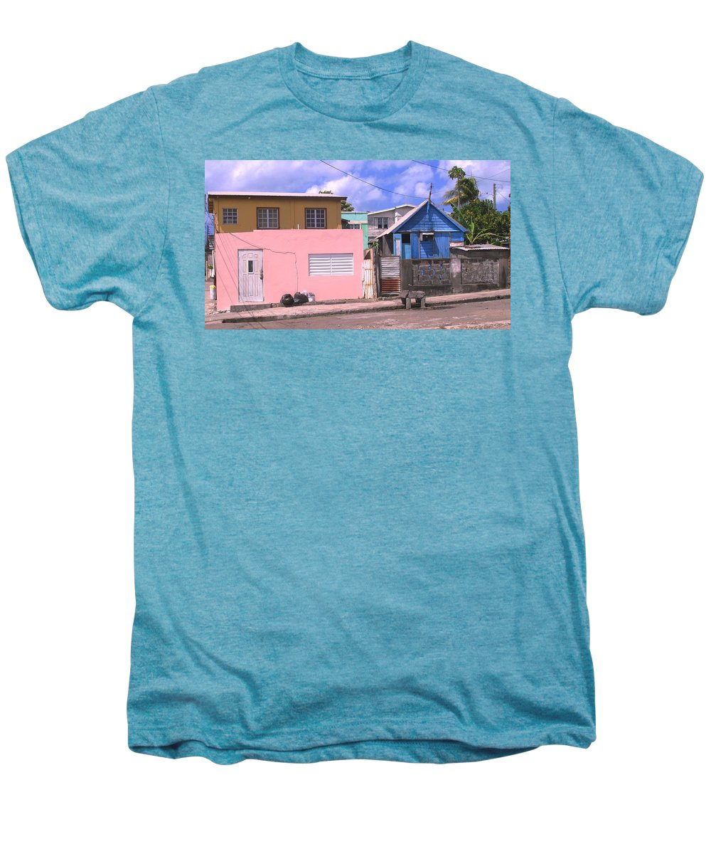 Basseterre Men's Premium T-Shirt featuring the photograph Far From Dull by Ian MacDonald