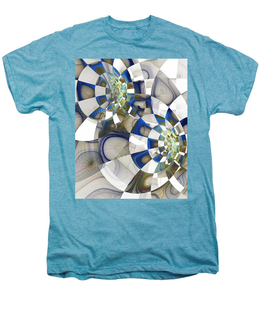 Digital Art Men's Premium T-Shirt featuring the digital art Flight by Amanda Moore