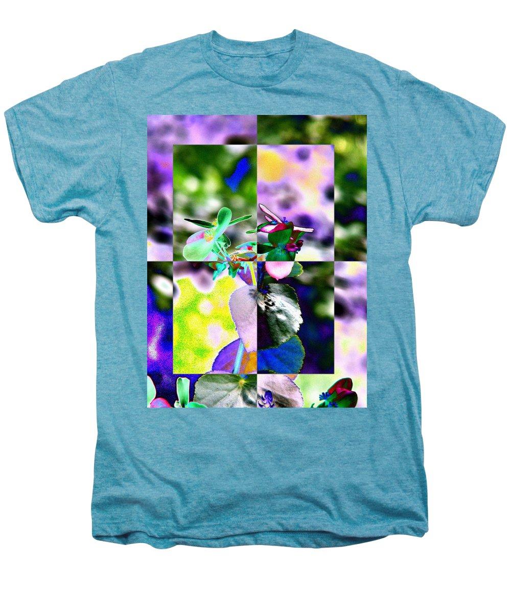 Flower Men's Premium T-Shirt featuring the digital art Flower 2 by Tim Allen