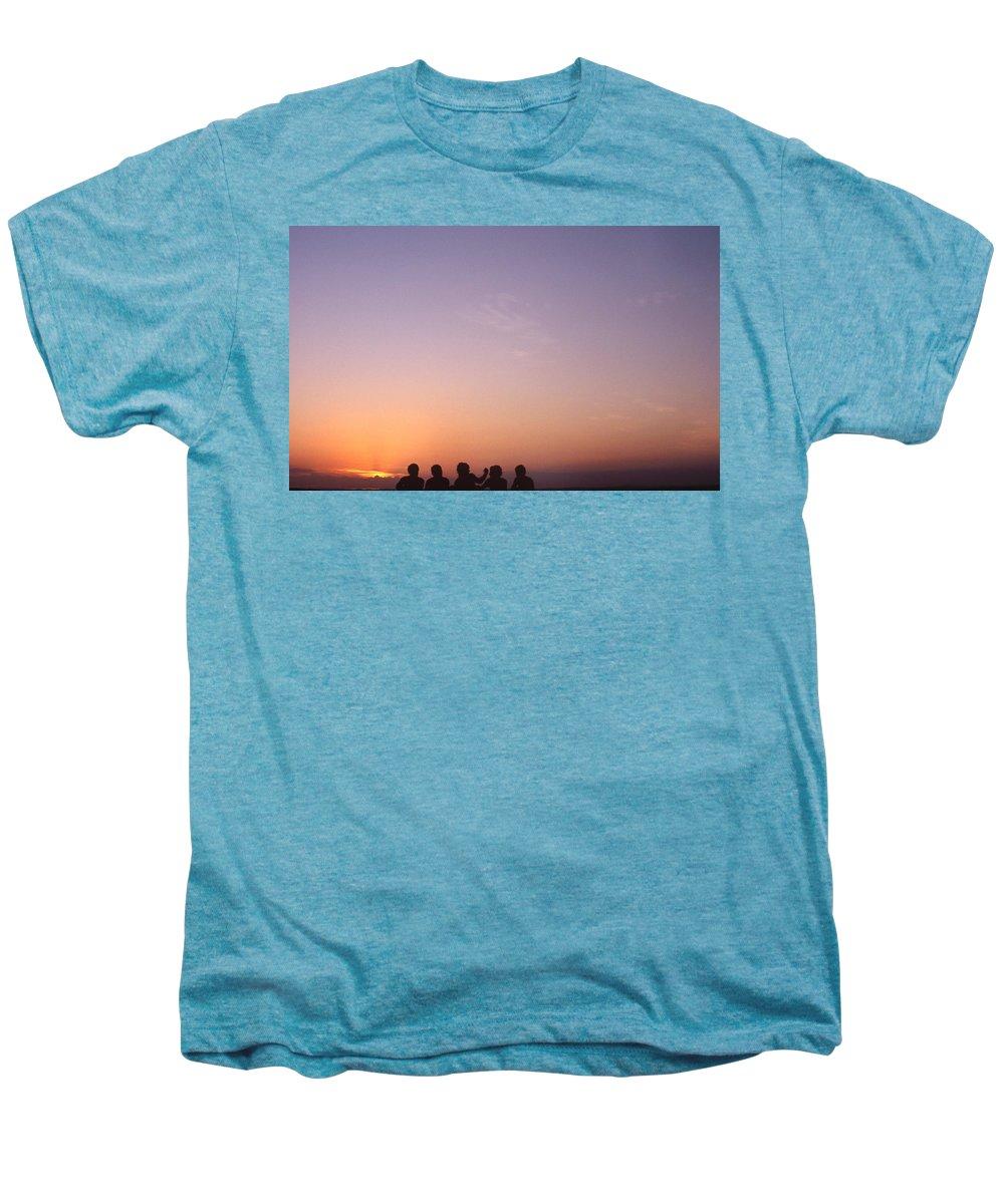 Bahia Men's Premium T-Shirt featuring the photograph Friends by Patrick Klauss