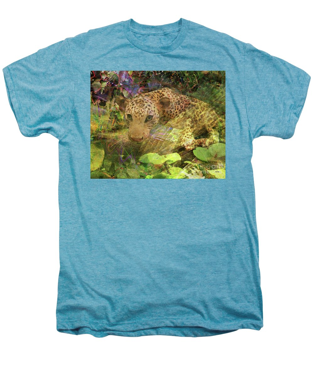 Game Spotting Men's Premium T-Shirt featuring the digital art Game Spotting by John Beck