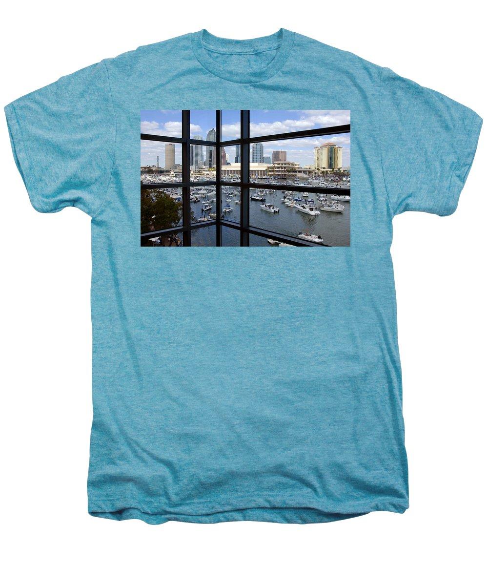 Gasparilla Men's Premium T-Shirt featuring the photograph Gasparilla Invasion by David Lee Thompson
