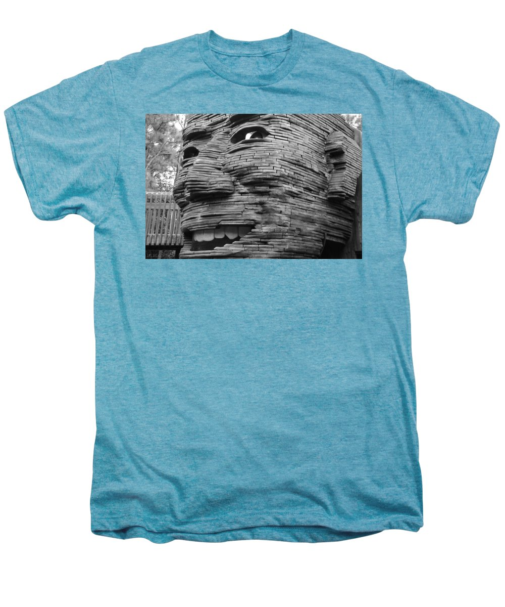 Architecture Men's Premium T-Shirt featuring the photograph Gentle Giant by Rob Hans