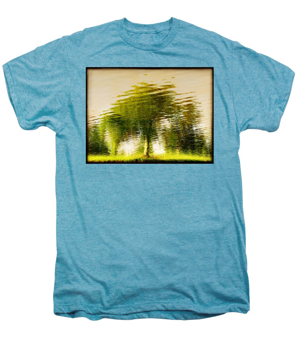 Abstract Men's Premium T-Shirt featuring the photograph Gentle Sun by Dana DiPasquale
