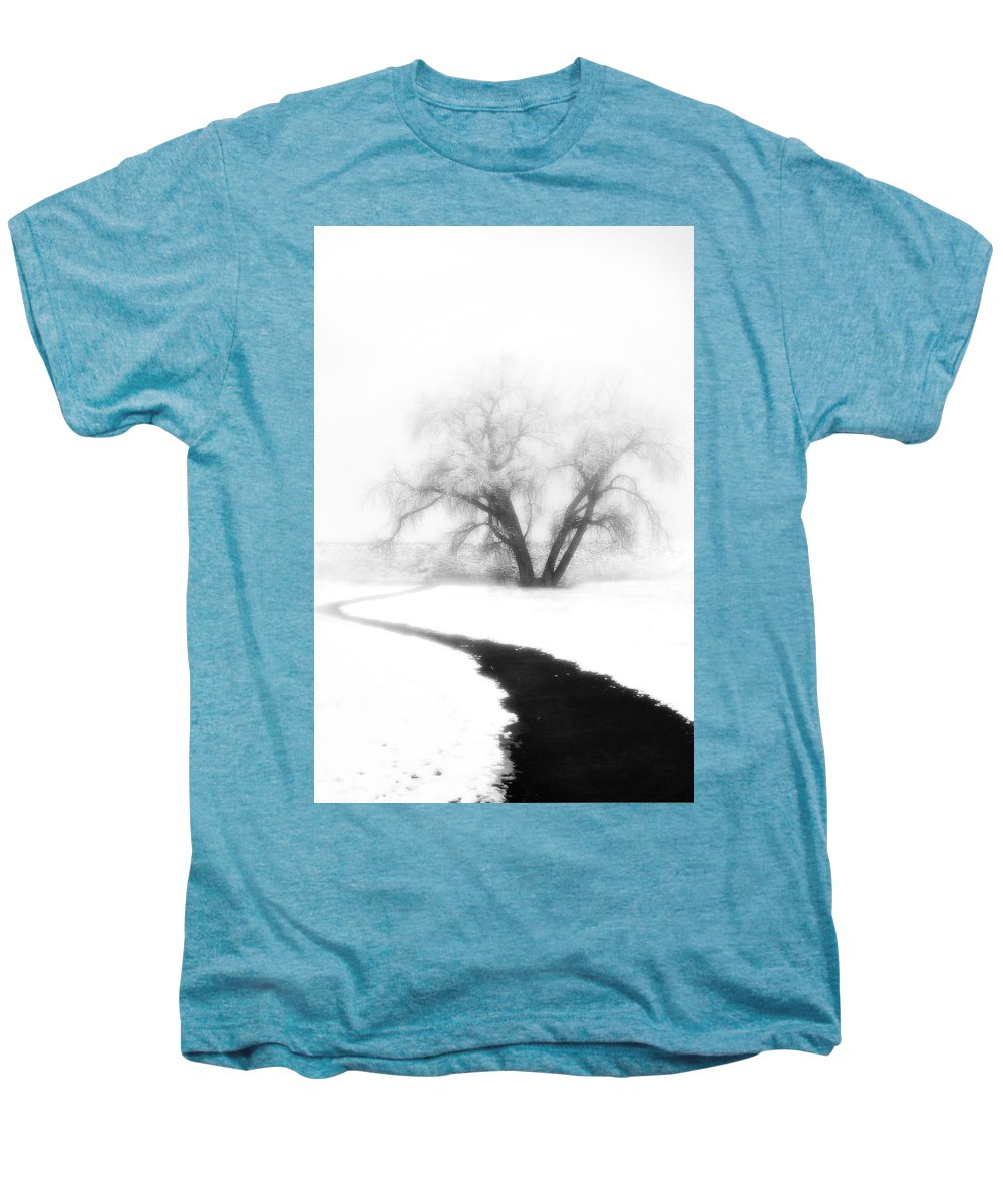 Tree Men's Premium T-Shirt featuring the photograph Getting There by Marilyn Hunt