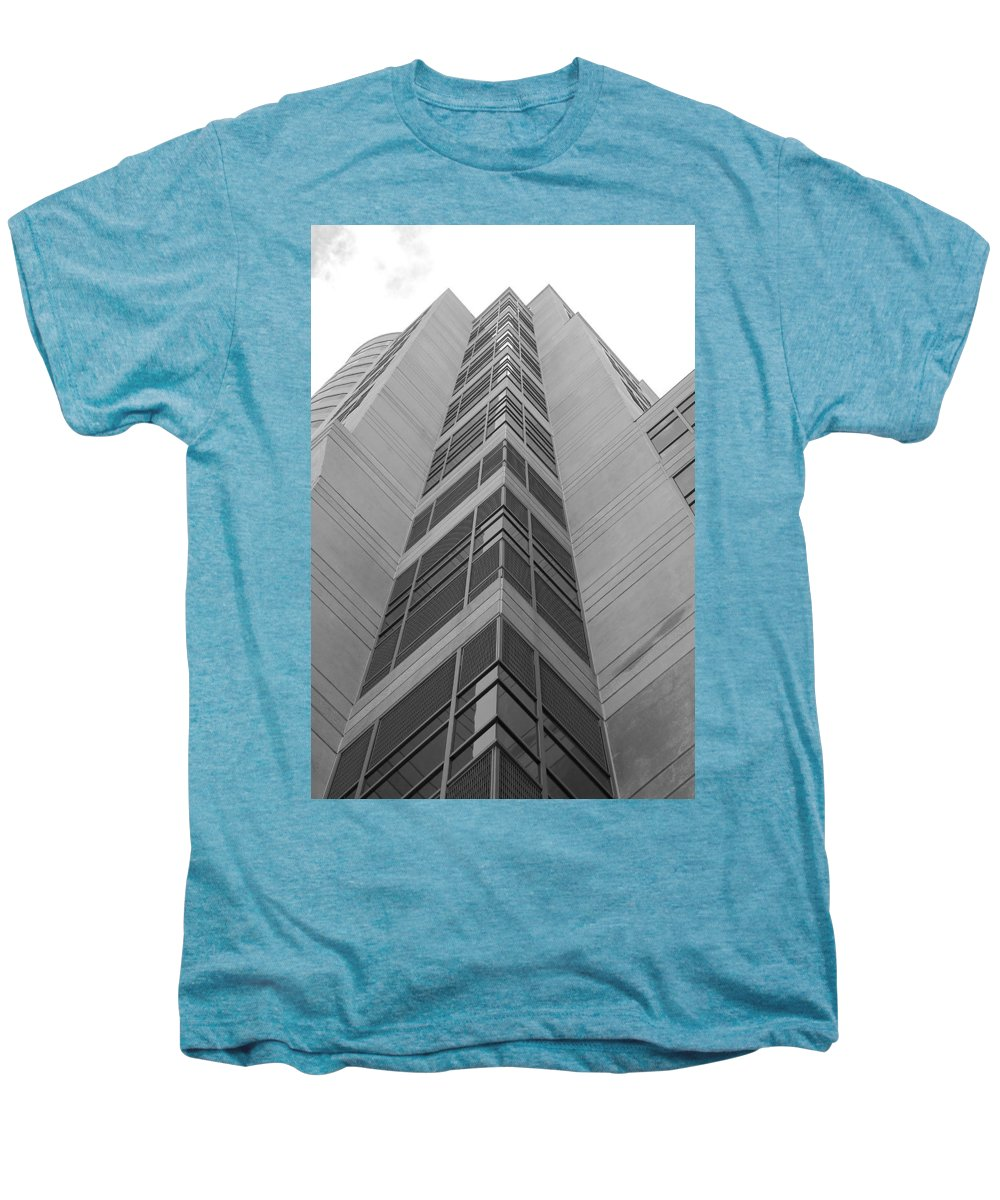 Architecture Men's Premium T-Shirt featuring the photograph Glass Tower by Rob Hans