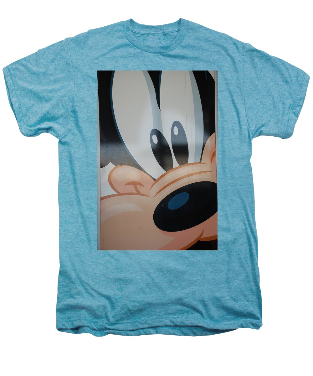Disney Men's Premium T-Shirt featuring the photograph Goofy by Rob Hans