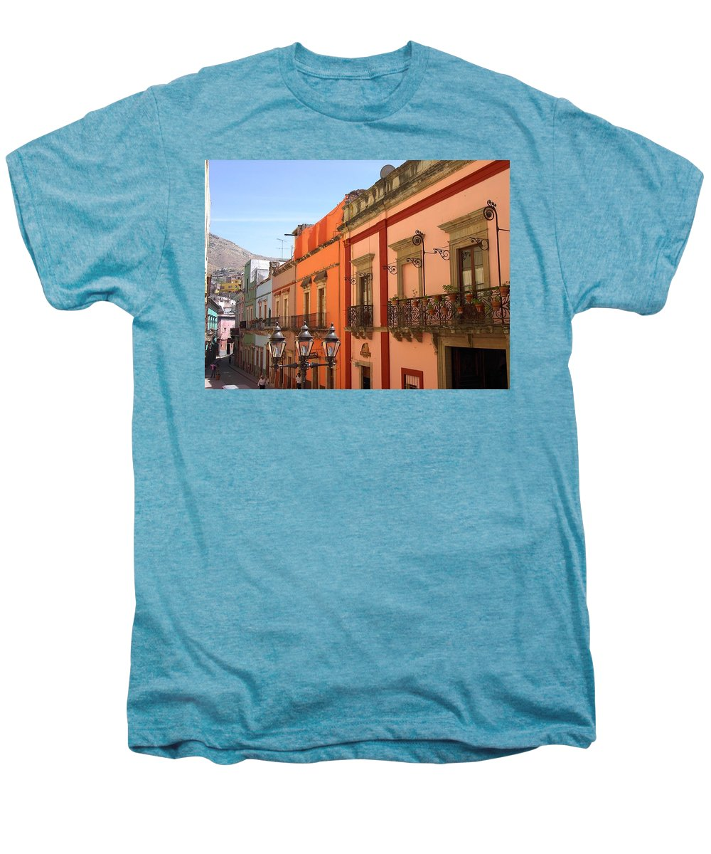 Charity Men's Premium T-Shirt featuring the photograph Guanajuato by Mary-Lee Sanders